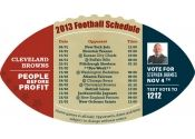 4x7 in One Team Cleveland Browns Football Schedule