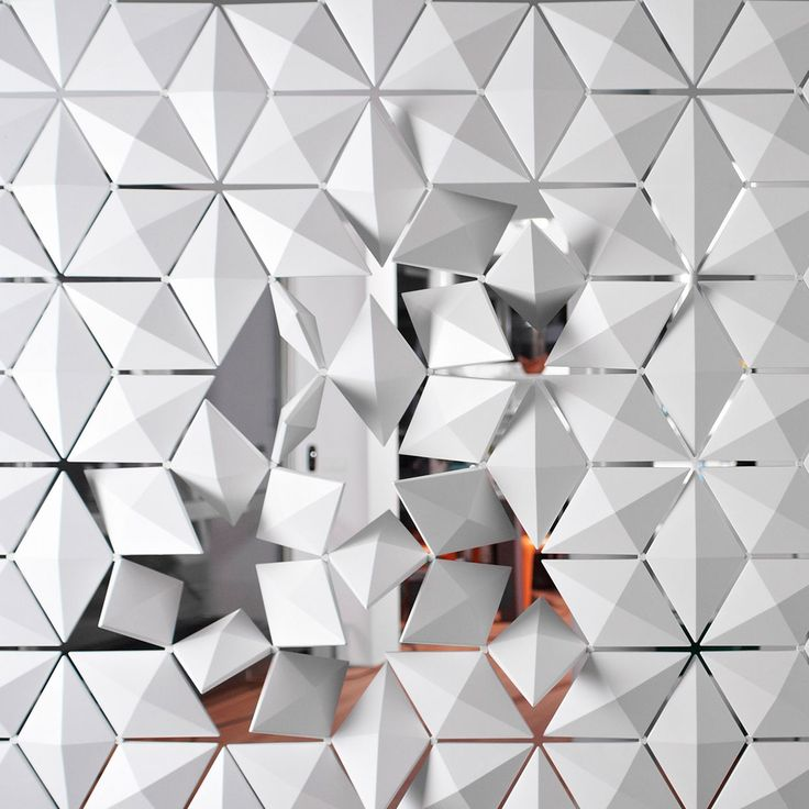 Hanging Room Divider Screen with Rotating Diamond Parts