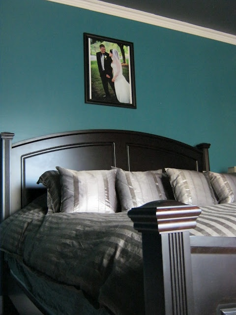 Olympic Teal Zeal I Love Teal Dream Home Pinterest Master Bedrooms Teal Walls And Colors