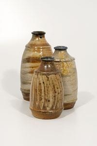 It's Feature Friday time again. Whilst we await the September/October issue, why not take another look at the July/August feature on Nick Ree's passion for wood firing and relationship with Muchelney Pottery.  Here are just some examples of his sublime ceramic bottles.