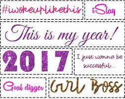 Made your 2017 vision board yet? It isn't too late (it is never too late!).