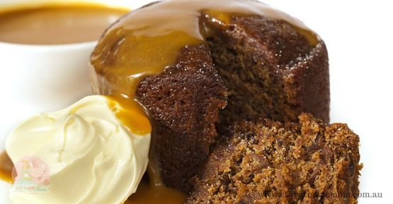 Sticky Date Pudding in a Mug | Stay at Home Mum #mugcakes #desserts