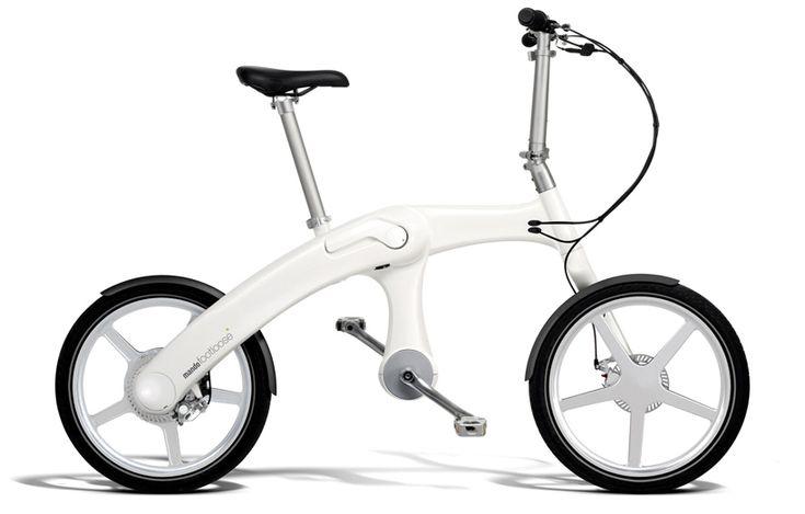 World's First Chainless Folding Electric Bike - GADGETS.feedbox.info