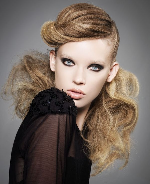 hair crimp styles 44 best editorial hair images on editorial 4761