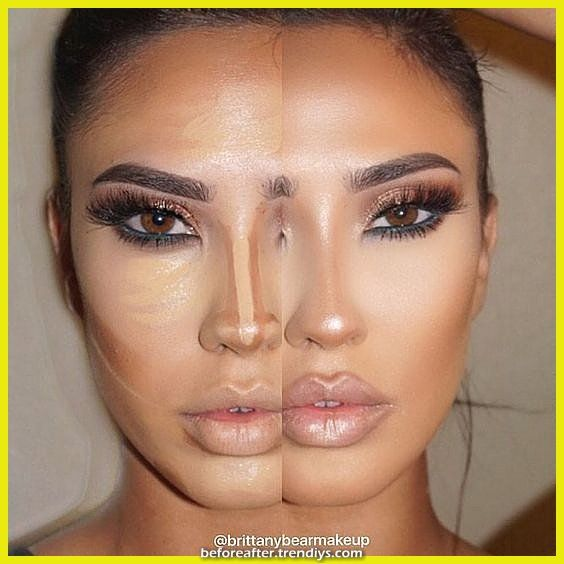 Earlier Than And After Nostril Contour