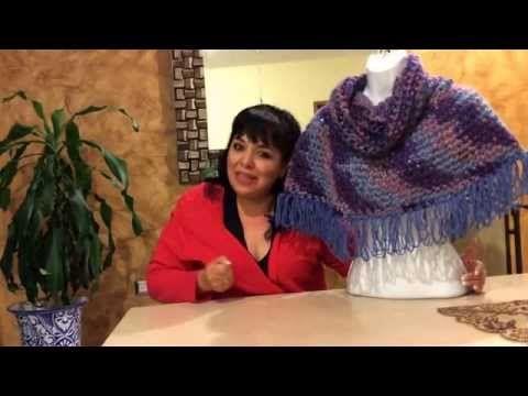 Chaleco para caballero tejido con dedos - tejiendo con Laura Cepeda - YouTube