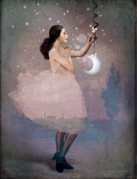 'The Magic ribbon' von Catrin Welz-Stein bei artflakes.com als Poster oder Kunstdruck $76.24