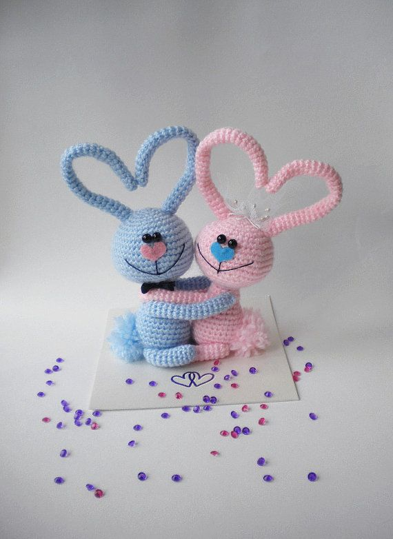 Wedding Bunnies Bride and Groome Bunnies Same Sex by hugles