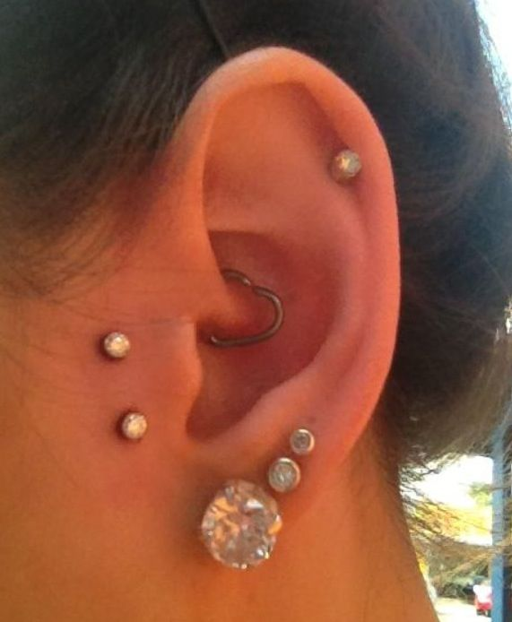 Flower Tattoo With Dermal Piercing: 17 Best Josh Noble-Olson Images On Pinterest