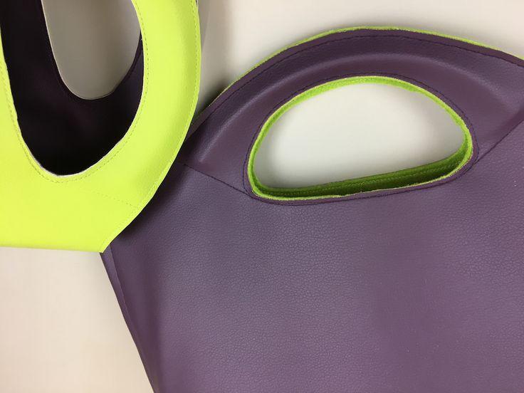 SO Pattern: Schnittmuster für Filztasche aus Kunstleder