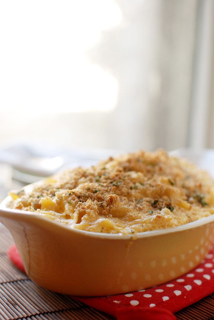 Baked Crab Mac-n-Cheese | Eatin' on the Cheap - hubby will love this ...