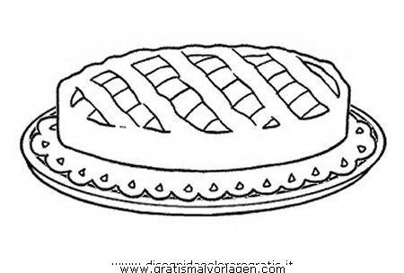 essen/lebensmittelspeisen/tortacrostata   ausmalen für kinder, ausmalen, malvorlagen gratis