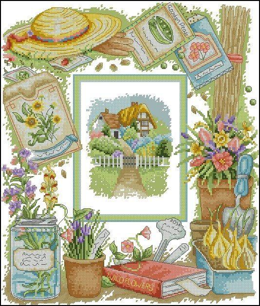1 around my garden denise10 sticken patchwork ideen pinterest - Patchwork ideen ...