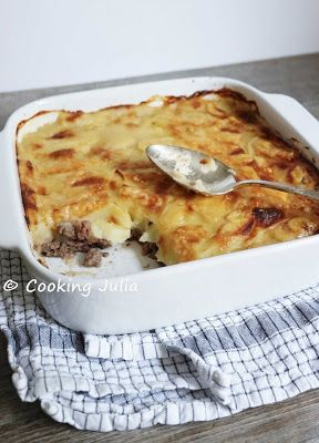 COOKING JULIA: HACHIS PARMENTIER DE CYRIL LIGNAC