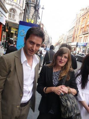 Richard Armitage and A. Capper, ex girl friend...