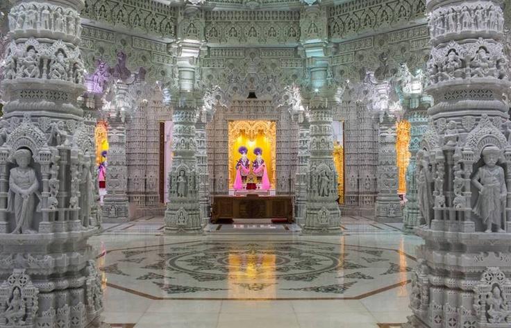 BAPS Shri Swaminarayan Mandir - Chino Hills, CA - STUNNING ...