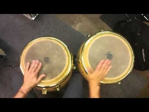 Paradiddle-diddle Fill for Congas - YouTube