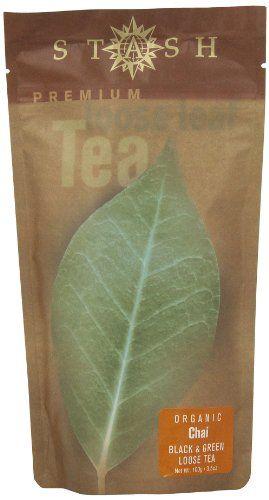 Stash Tea Company Organic Chai Spice Loose Leaf Tea, 100 Gram Pouch - http://goodvibeorganics.com/stash-tea-company-organic-chai-spice-loose-leaf-tea-100-gram-pouch/