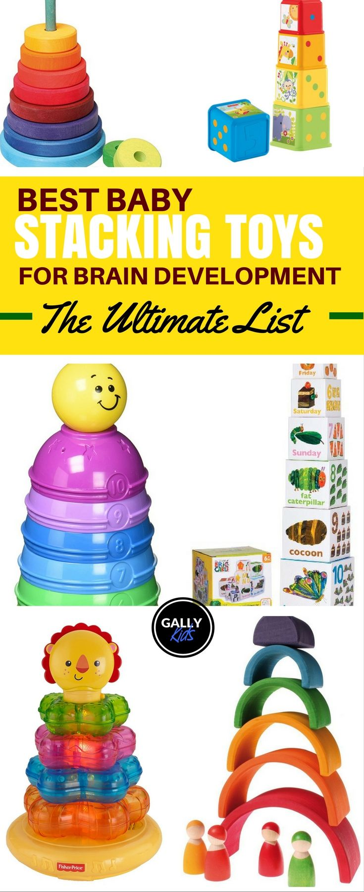 Brain Development Toys : Best ideas about stacking toys on pinterest rainbow