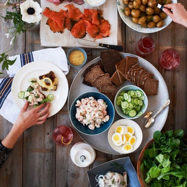 How to Throw a Wildly Hip Scandinavian Sandwich Party photo
