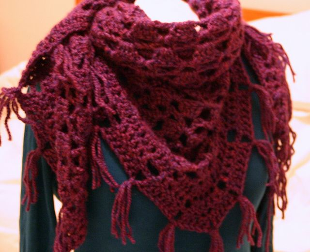CloudBurst Shawl and other awesome free crochet shawl patterns at mooglyblog.com - all take 450 yds or less of yarn!