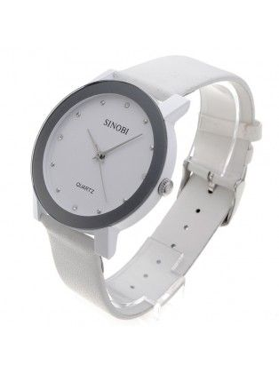 Men's Quartz White Couple Watch Wrist Watch