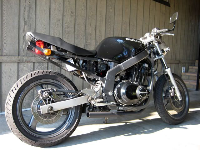 26 best streetfighter/cafe racer gs500 images on pinterest | cafe