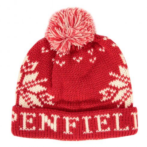 Penfield Dumont Bobble Red Beanie http://www.mainlinemenswear.co.uk/section.php?xSec=2619