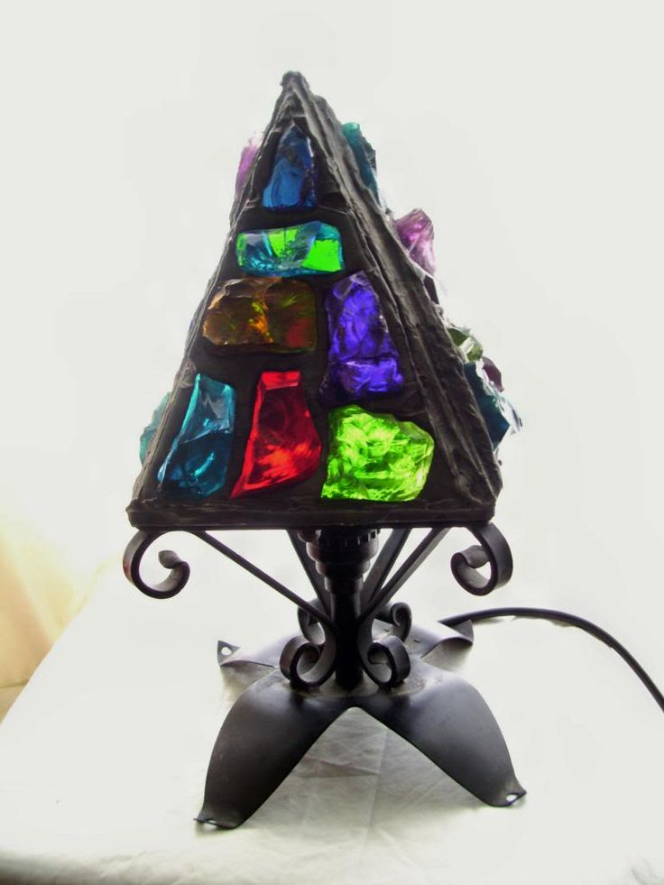 Details About Original 1950s Peter Marsh Leaded Rock Glass