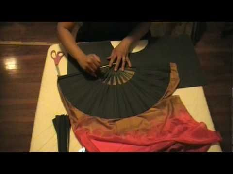 How to make Fan Veils part 2, by Reyna and Rick of Rising Sun Tribe.