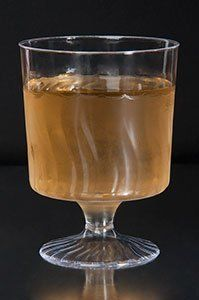 80 Count Disposable Wine Glasses 5.5 oz Plastic Clear Heavyweight 1-Piece Upscale by Fineline Settings. $28.00. Perfect for parties, weddings, showers, dinners, catered events.... Upscale, heavyweight and disposable. These 5.5 oz. clear plastic footed wine cups are perfect for weddings, parties, special dinners, catered events, or any other social event where you desire the elegance of fine china, but require the convenience of single use. Each plastic wine cup presents a tim...