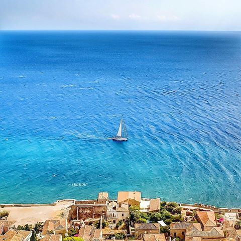 Monemvasia, Greece ...    #monemvasia #greece .