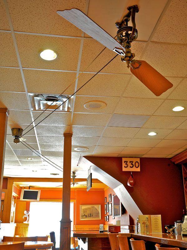 Fanimation Pulleys The Brewmaster Belt Drive Ceiling Fan