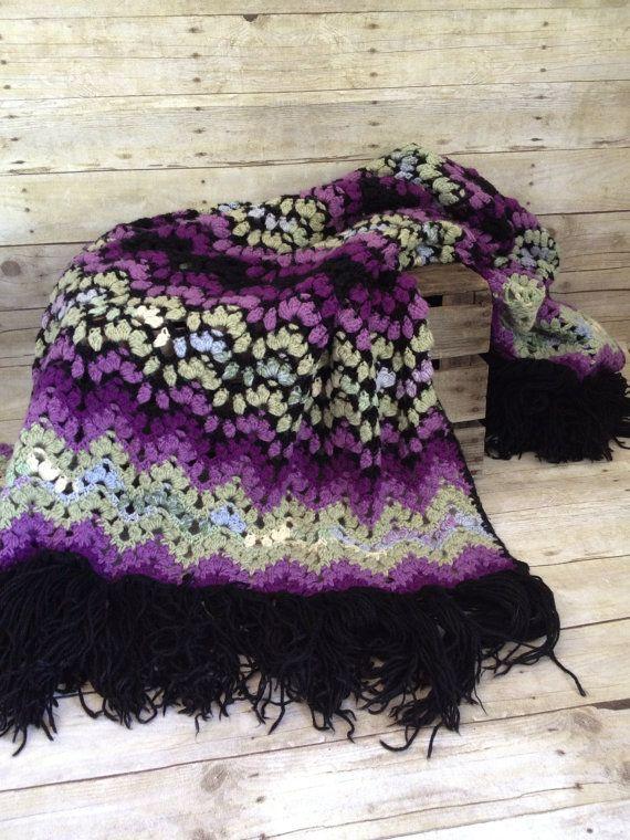42 Best Crochet Persian Blanket Images On Pinterest