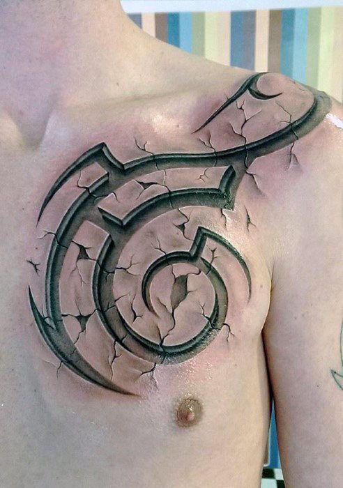 60 3D Tribal Tattoos für Männer – Maskuline Design-Ideen