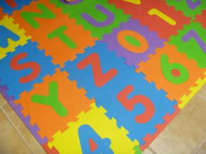 How to wash ABC foam mat |