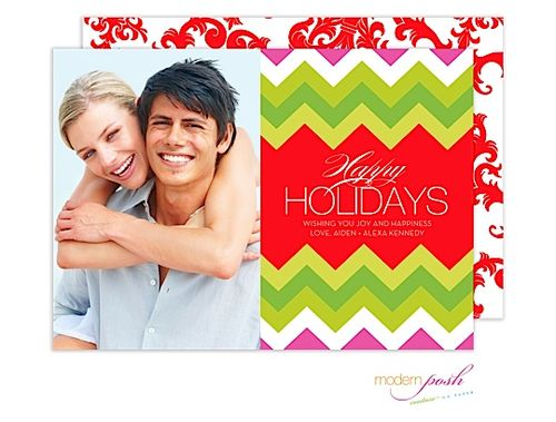 Holiday and Christmas Photo Cards from Express Yourself. Shine Bright Holiday Digital Photo Card.