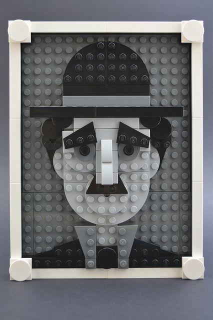 LEGO Brick Sketch The Little Tramp