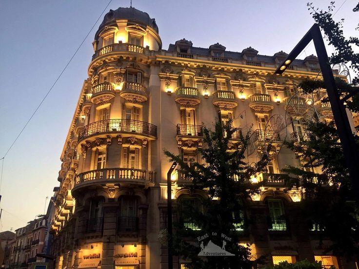 What a lovely night in Granada 🌸🎶 ما احلى الليل في غرناطة #easttowestadventures #granada #goldenglow #lights #nightscapes #cityscapes #beautifularchitecture #eveningstroll #dusk #beautifulcity #romanticgetaway #fairytale #perfectshot #walkinghome #whataday #whatanight #shadows #lamps #streetlight #spanishnight #travelspain #summernights #summertime #doesntgetbetterthanthis #perfectnight #takemeback  #bloggers #travel #adventure  #مغامرات #غرناطة #قصرالحمراء #الاندلس #سفر #سافر #اسبانيا…