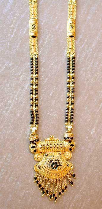 Gold Mangalsutra, Gold Mangalsutra Designs, Indian Gold ...