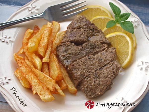 Baked liver #cooklikegreeks #bakedliver