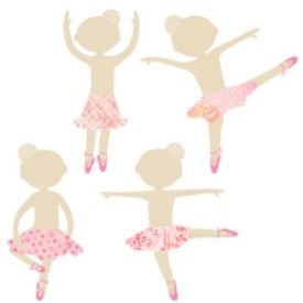Looking for a girly, cute, dancers wall decal to enhance your little girls room?these dancers stickers feature 4 cute pink ballet dancers stickers in different dancing positions. These vinyl wall stickers will give your little girl a sense of imagination as she fantasizes about one day being a ballerina. Wall decals are a cost effective alternative to traditional wall decorations, Vinyl wall stickers are easy to apply (and remove), simply peel & Stick to get a decorative and stylish look.