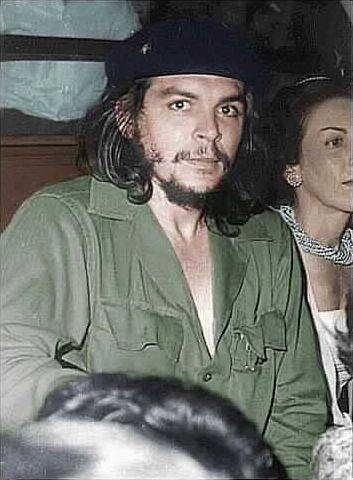 "Ernesto Che Guevara  ""Better to die on your feet than live on your knees"""