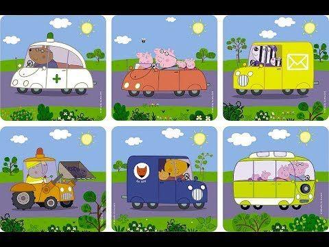 Пазлы для малышей - Свинка Пеппа 6 в 1