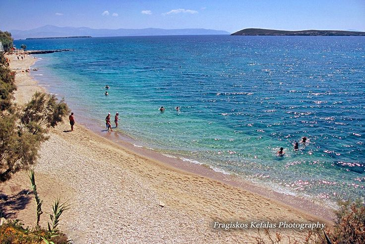 La plage Drios à Paros