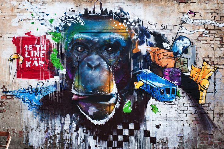 "Фестиваль ""Макаронная фабрика"", 2012.  #makaronka #graffiti #makaronka_space #rostovlife"
