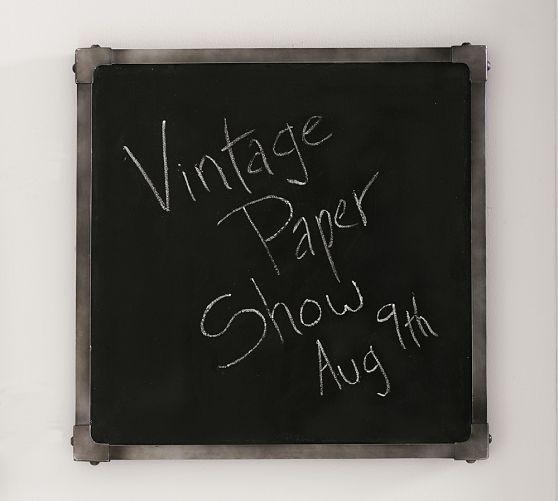 Industrial Framed Chalkboard | Pottery Barn $69