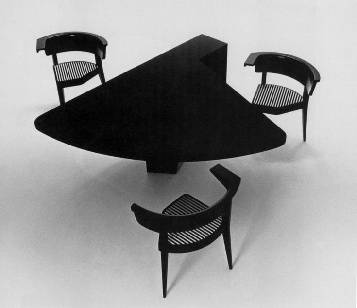silla b1 mesa m1 1979 stefan wewerka el mueble del. Black Bedroom Furniture Sets. Home Design Ideas