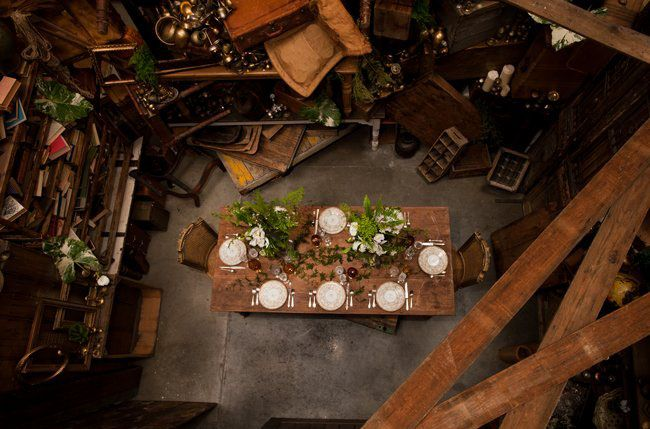 Love this Indiana Jones styled dinner party by Found and Casa de Perrin