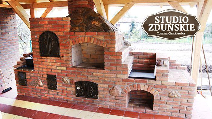 Grillowędzarnie - STUDIO ZDUŃSKIE - kominki, piece, kuchnie.